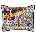 Indiana Embroidered Pillow - Image 1
