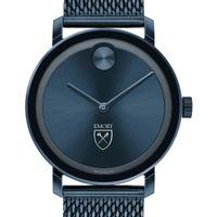 Emory Men's Movado Bold Blue with Mesh Bracelet