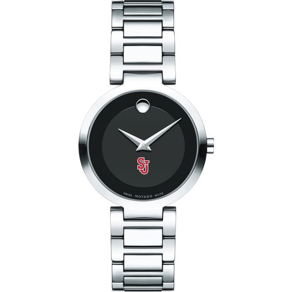 St. John's University Women's Movado Museum with Steel Bracelet - Image 2