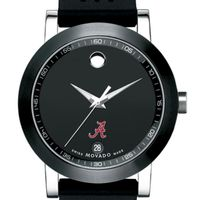 Alabama Men's Movado Museum Sport Rubber Strap