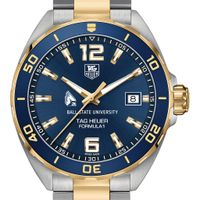 Ball State Men's TAG Heuer Two-Tone Formula 1 with Blue Dial & Bezel