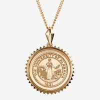Alabama 14K Gold Sunburst Necklace by Kyle Cavan