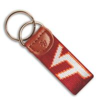Virginia Tech Cotton Key Fob