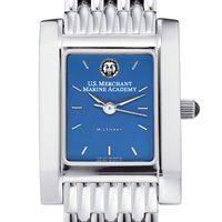 USMMA Women's Blue Quad Watch with Bracelet