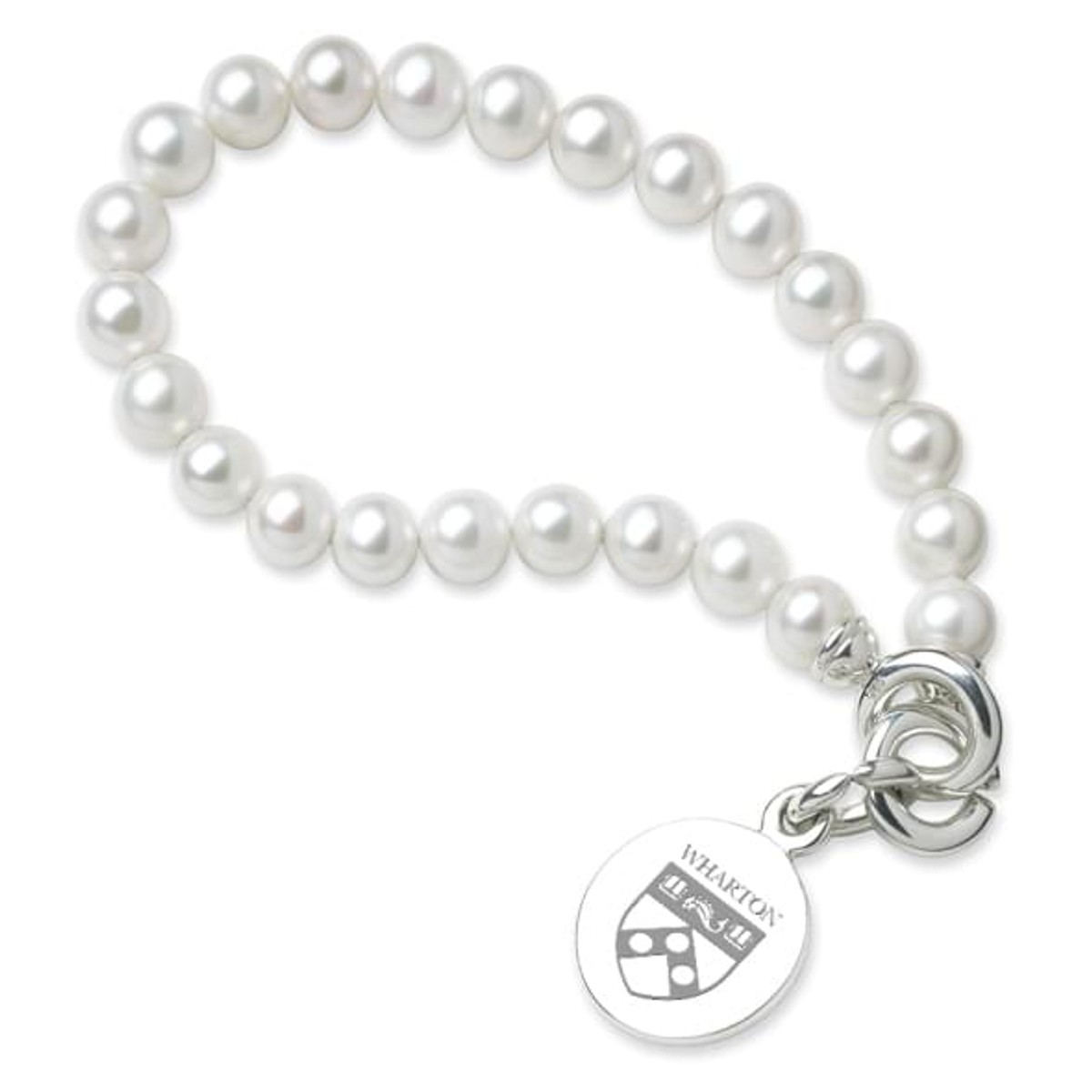 wharton pearl bracelet with sterling silver charm at m lahart co Red Wine Vinegar