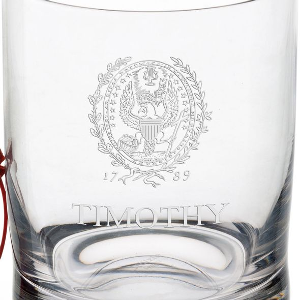 Georgetown University Tumbler Glasses - Set of 4 - Image 3