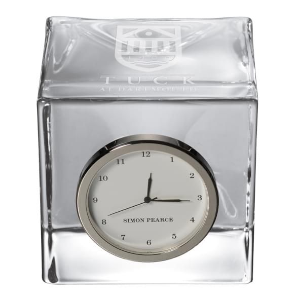 TUCK Glass Desk Clock by Simon Pearce - Image 2