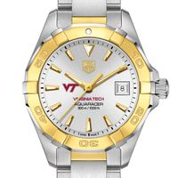Virginia Tech Women's TAG Heuer Two-Tone Aquaracer