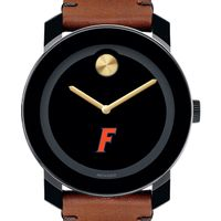 University of Florida Men's Movado BOLD with Brown Leather Strap