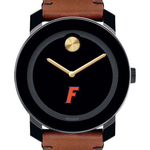 University of Florida Men's Movado BOLD with Brown Leather Strap - Image 1