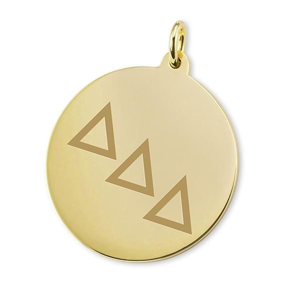 Delta Delta Delta 18K Gold Charm