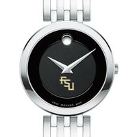 Florida State University Women's Movado Esparanza Stainless Steel Museum with Bracelet