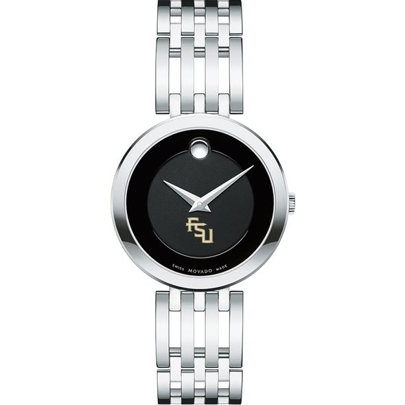 Florida State University Women's Movado Esparanza Stainless Steel Museum with Bracelet - Image 2