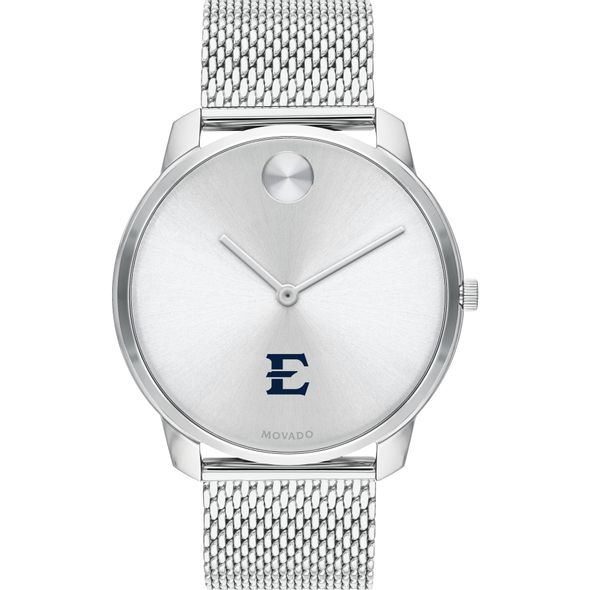 East Tennessee State University Men's Movado Stainless Bold 42 - Image 2