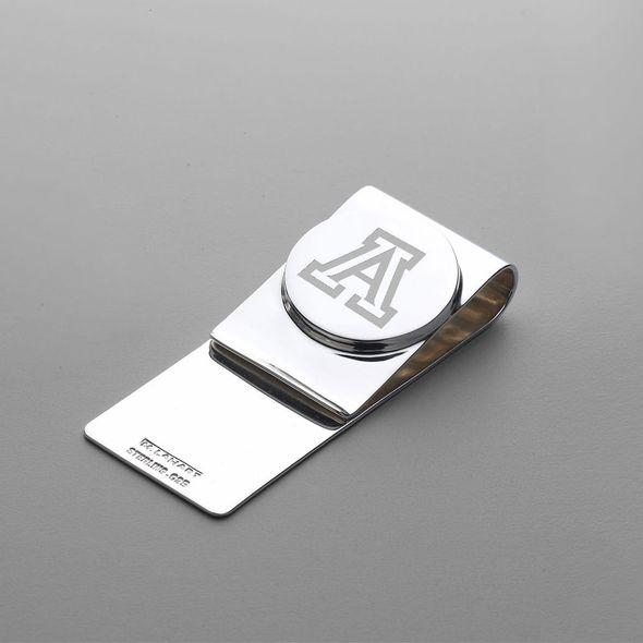 University of Arizona Sterling Silver Money Clip