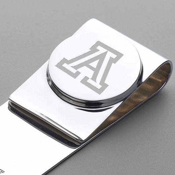 University of Arizona Sterling Silver Money Clip - Image 2