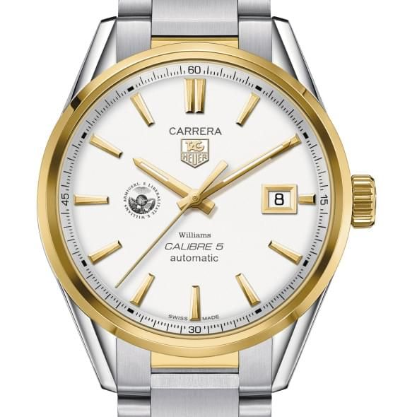 Williams College Men's TAG Heuer Two-Tone Carrera with Bracelet