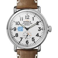 UNC Shinola Watch, The Runwell 41mm White Dial