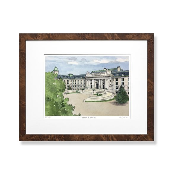 USNA Campus Print- Limited Edition, Medium