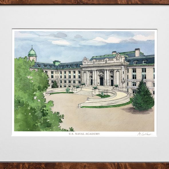USNA Campus Print- Limited Edition, Medium - Image 2