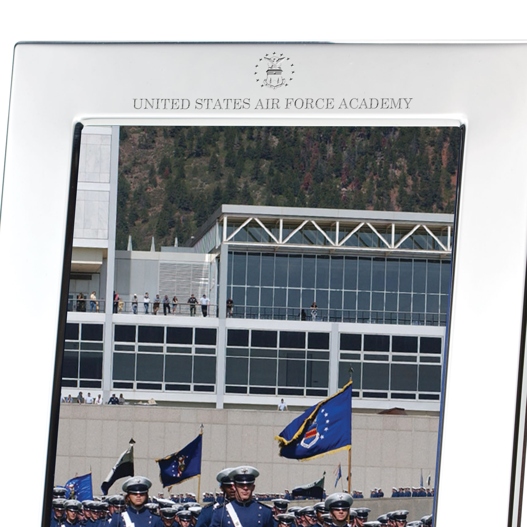 Air Force Academy Pewter Frame (5x7) - Image 2