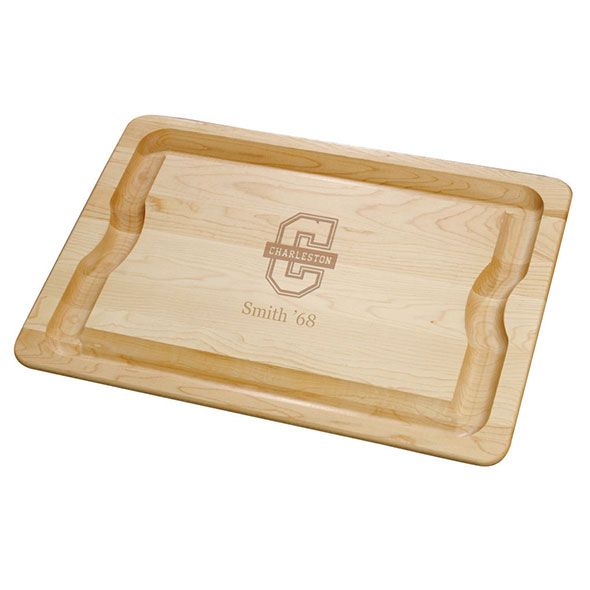 College of Charleston Maple Cutting Board
