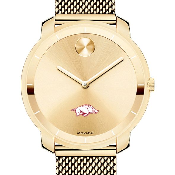 University of Arkansas Women's Movado Gold Bold 36 - Image 1