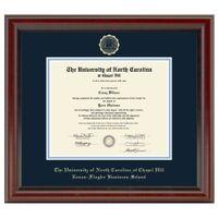 UNC Kenan-Flagler Diploma Frame, the Fidelitas