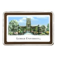 Lehigh Eglomise Paperweight