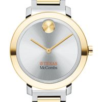 McCombs School of Business Women's Movado Two-Tone Bold 34