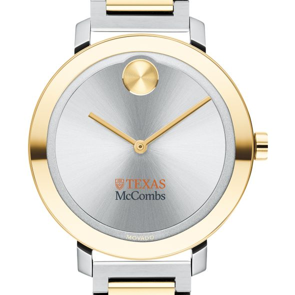 McCombs School of Business Women's Movado Two-Tone Bold 34 - Image 1