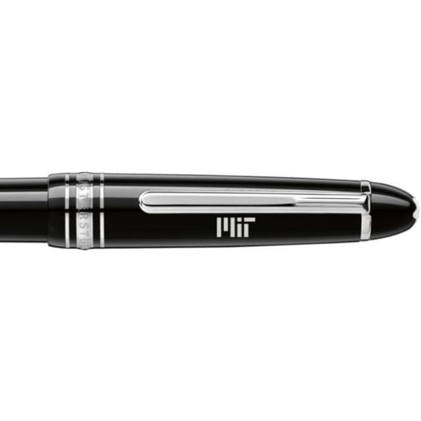 MIT Montblanc Meisterstück Midsize Ballpoint Pen in Platinum - Image 2