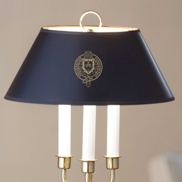 Fordham Lamp in Brass & Marble - Image 2