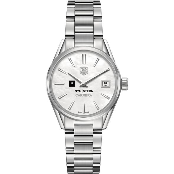 NYU Stern Women's TAG Heuer Steel Carrera with MOP Dial - Image 2