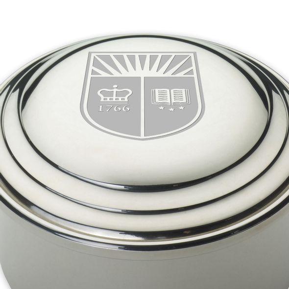 Rutgers University Pewter Keepsake Box - Image 2