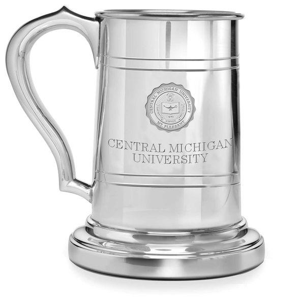 Central Michigan Pewter Stein