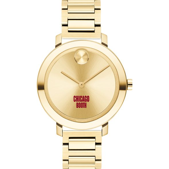 Chicago Booth Women's Movado Gold Bold 34 - Image 2