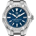 Texas McCombs Women's TAG Heuer 35mm Steel Aquaracer with Blue Dial - Image 1