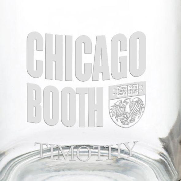 Chicago Booth 13 oz Glass Coffee Mug - Image 3