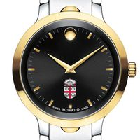 Brown Men's Movado Luno Sport Two-Tone