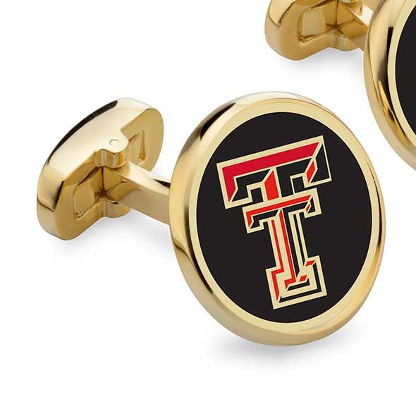 Texas Tech Enamel Cufflinks - Image 2