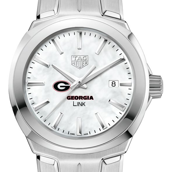 University of Georgia TAG Heuer LINK for Women