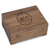New York University Solid Walnut Desk Box