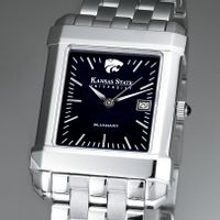 Kansas State University Men's Black Quad with Bracelet