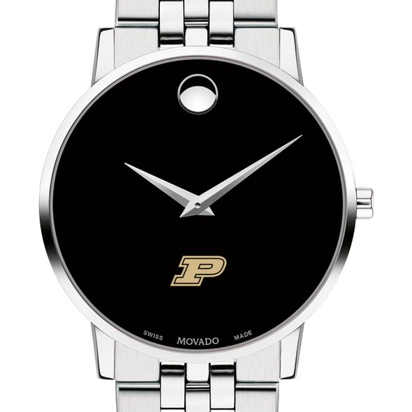Purdue University Men's Movado Museum with Bracelet