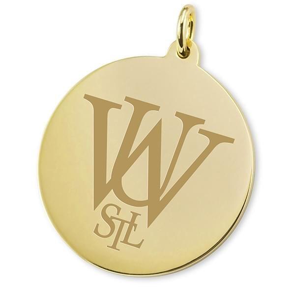 WashU 18K Gold Charm - Image 2