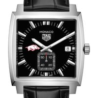 University of Arkansas TAG Heuer Monaco with Quartz Movement for Men