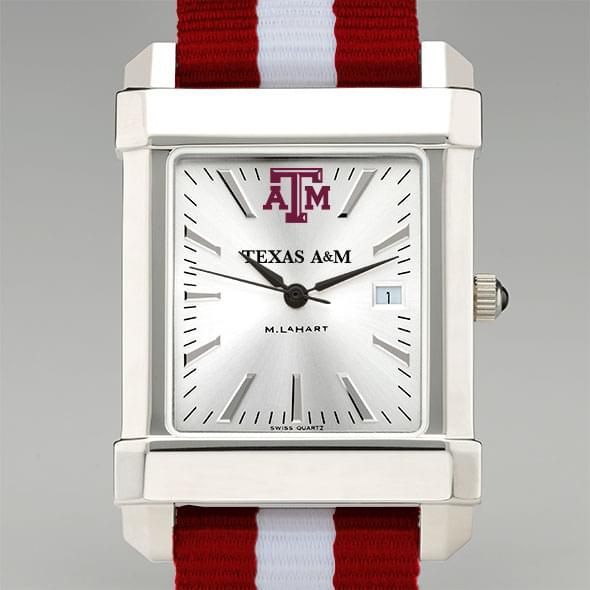 Texas A&M University Collegiate Watch with NATO Strap for Men
