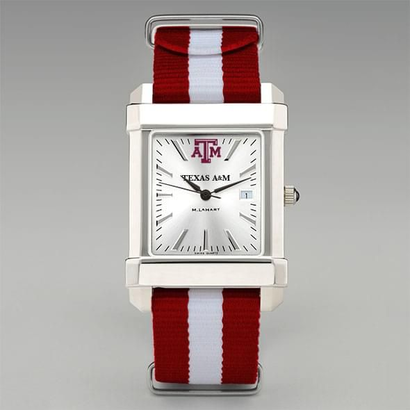 Texas A&M University Collegiate Watch with NATO Strap for Men - Image 2