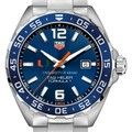 University of Miami Men's TAG Heuer Formula 1 with Blue Dial & Bezel - Image 1